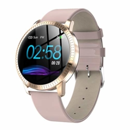 Igemy Sport Tracker, 2019 Smart Watch Fitness Aktivität Herzfrequenz Tracker Blutdruckuhr IP67 (Rosa) - 1