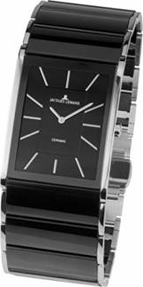 JACQUES LEMANS Damen Analog Quarz Uhr mit Edelstahl Armband 1-1940A - 1