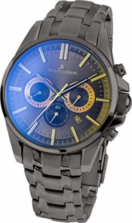 JACQUES LEMANS Herren-Armbanduhr 1-1799R - 1