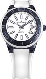 Jacques Lemans Herren Armbanduhr Multi Zifferblatt Quarz Silikon 1-1784R - 1