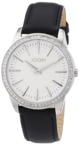 Joop Damen-Armbanduhr Element Ladies Analog Quarz Leder JP101162F02 - 1
