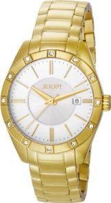 Joop Damen-Armbanduhr Emblem Analog Quarz Edelstahl JP101022F07 - 1