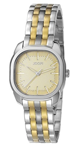 Joop! Damen-Armbanduhr Two Colours Analog Quarz Edelstahl beschichtet JP101832004 - 1