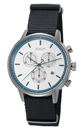 Joop! Herren-Armbanduhr Urban Anthracite Chronograph Quarz Textil JP101591008 - 1