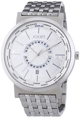 Joop Herren-Armbanduhr XL Analog Quarz Edelstahl JP101201F05 - 1