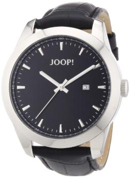 Joop Herren-Armbanduhr XL Essential Analog Quarz Leder JP100801F05 - 1