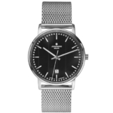Junghans Herren-Armbanduhr XL Milano Solar Analog Quarz Edelstahl 014/4061.44 - 1