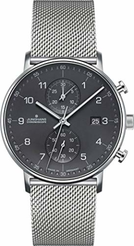 Junghans Herrenuhr Chronoscope Form C 041/4877.44 - 1