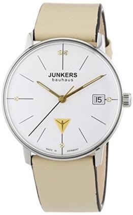 Junkers Damen-Armbanduhr XS Bauhaus Analog Quarz Leder 60735 - 1