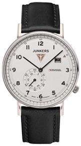 Junkers Herren Analog Quarz Uhr mit Leder Armband 67301 - 1