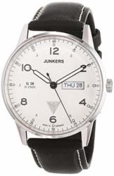 Junkers Herren-Armbanduhr XL G 38 Analog Quarz Leder 69441 - 1