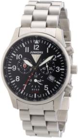 Junkers Herren-Armbanduhr XL Hugo Junkers Quarz Edelstahl 6684M2 - 1