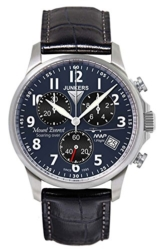 Junkers Herren Chronograph Quarz Uhr mit Leder Armband 68943 - 1