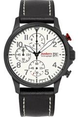 Junkers Herren-Uhren Analog Quarz One Size Kalbsleder 87354768 - 1