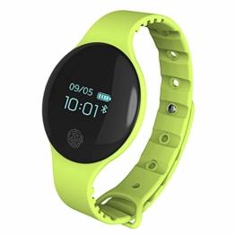 Kid Smart Watch für Mädchen Jungen, Fitness Tracker Uhr Schrittzähler Unterstützung Schlaf Monitor Kalorienzähler GPS für iPhone Android iOS,Green - 1