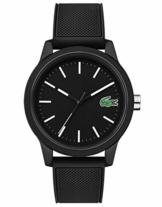 Lacoste Herren Analog Uhr Leisure mit Silikon Armband - 1
