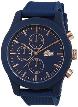 Lacoste - Herren -Armbanduhr 2010827,blau (blau/rosa gold) - 1