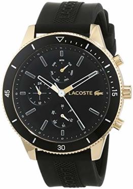Lacoste Herren Multi Zifferblatt Quarz Uhr mit Silikon Armband 2010994 - 1