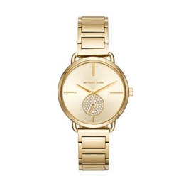 Michael Kors Damen Analog Quarz Uhr mit Edelstahl Armband MK3639 - 1