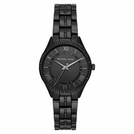 Michael Kors Damen Analog Quarz Uhr mit Edelstahl Armband MK4337 - 1