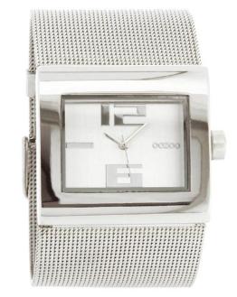 Oozoo C2360-Uhr für Frauen, Metall-Armband Silber - 1
