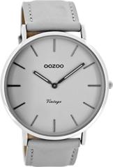 Oozoo Damen Digital Quarz Uhr mit Leder Armband C8135 - 1