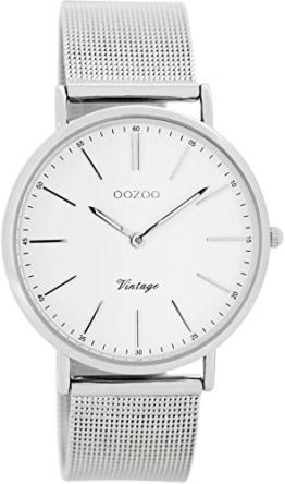 Oozoo Damenuhr Digital Quarz mit Edelstahlarmband - C7395 - 1