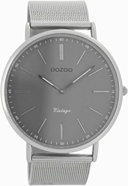 Oozoo Herren Digital Quarz Uhr mit Edelstahl Armband C7382 - 1