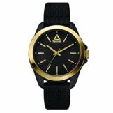 REEBOK Damen Analog Quarz Uhr mit Silikon Armband RD-PRI-L2-PBIB-B2 - 1