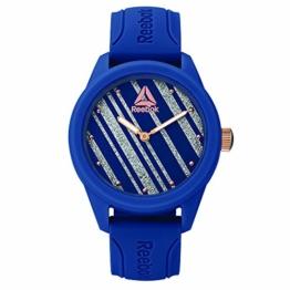 REEBOK Damen Analog Quarz Uhr mit Silikon Armband RD-SPR-L1-PNIN-N3 - 1