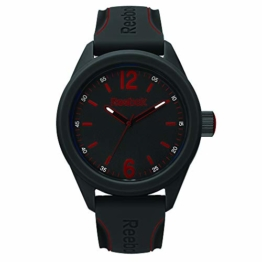 REEBOK Herren Analog Quarz Uhr mit Silikon Armband RF-SDS-G2-PBIB-BR - 1