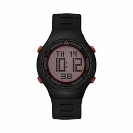 Reebok Herren Digital Quarz Uhr mit PU Armband RD-RUT-G9-PBPB-RB - 1