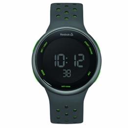 REEBOK Herren Digital Uhr mit Silikon Armband RD-ELE-G9-PAIA-BG - 1
