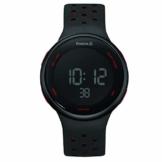 REEBOK Herren Digital Uhr mit Silikon Armband RD-ELE-G9-PBIB-BR - 1