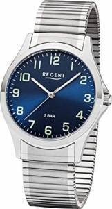 Regent 11310062 Herrenuhr, Zugband, Quarz - 1