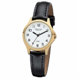REGENT Damen-Armbanduhr analog Quarz Lederband W-0073 - 1