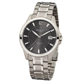 Regent f-555-Armbanduhr Herren, Armband aus Titan Farbe Silber - 1