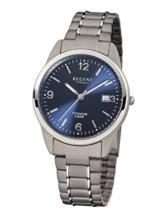 Regent Herren-Armbanduhr XL Analog Titan 11090247 - 1