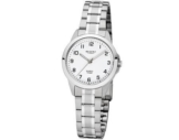 REGENT Uhr - Damenuhr mit Stahlband 10 Bar - F1003 - 1