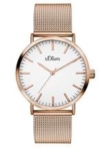 S.Oliver Damen Analog Quarz Armbanduhr SO-3146-MQ - 1
