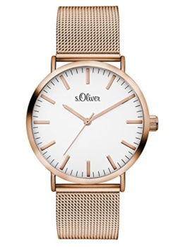 S.Oliver Damen Analog Quarz Armbanduhr SO-3146-MQ - 1