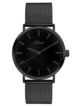 S.Oliver Damen Analog Quarz Armbanduhr SO-3216-MQ - 1