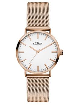 S.Oliver Damen Analog Quarz Armbanduhr SO-3272-MQ - 1
