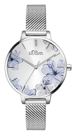 s.Oliver Damen Analog Quarz Armbanduhr SO-3523-MQ - 1