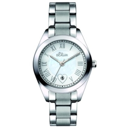 s.Oliver Damen-Armbanduhr Analog Quarz SO-15084-MQR - 1