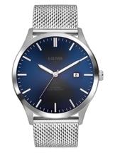 s.Oliver Herren Analog Quarz Uhr mit Edelstahl Armband SO-3478-MQ - 1
