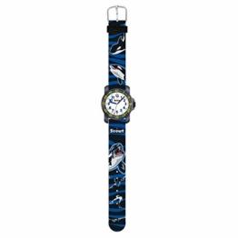 Scout 280376009 Jungen-Armbanduhr Lernuhr Big Orca Action Boys Blau - 1