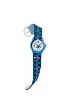 Scout Jungen Analog Quarz Uhr mit Lederimitat Armband 280305015 - 1