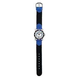 SCOUT Jungen Analog Quarz Uhr mit Nylon Armband 280377002 - 1
