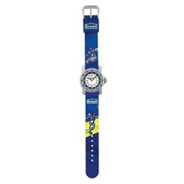 SCOUT Jungen Analog Quarz Uhr mit Stoff Armband 280376003 - 1